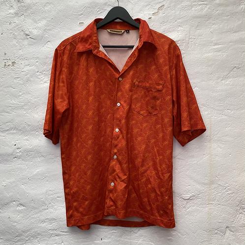 Chemisette orange à motif, TL-XL, Quiksilver