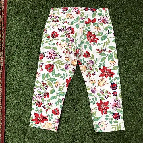 Pantalon Gap à fleurs