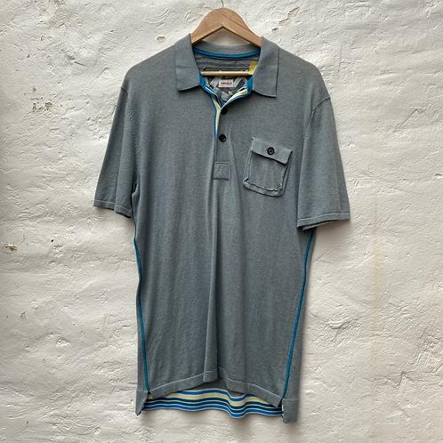 Polo bleu clair, TM-L, Kenzo