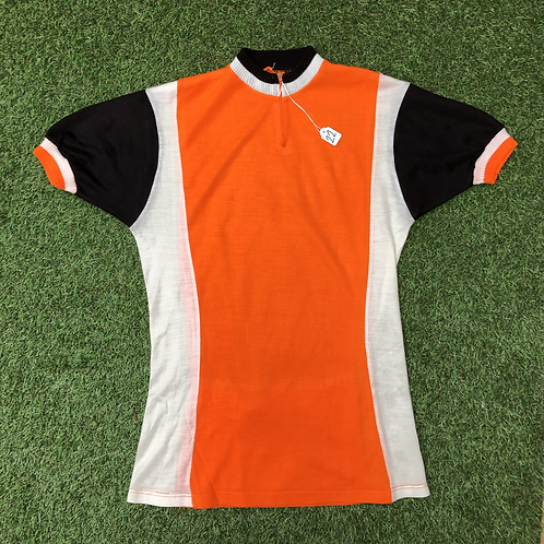 T-Shirt cycliste acrylique orange