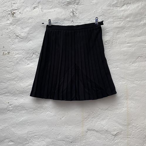 Jupe plissée noire, années 2000, TS-M, Selectif