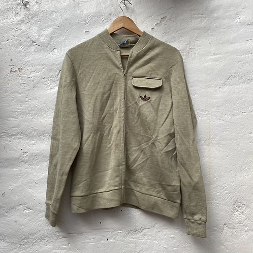 Veste vintage beige, années 80, TL, Adidas
