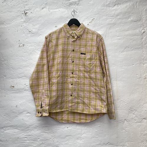 Chemise à carreaux jaune et rose, années 90, TM-L, Pepe Jeans