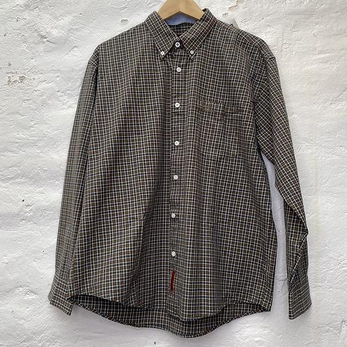 Chemise à carreaux marron et bleu, TL, Winchester