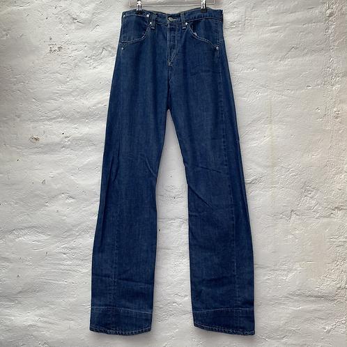 Jean brut taille haute, années 2000, TM, Levi's