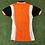 Thumbnail: T-Shirt cycliste acrylique orange