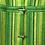 Thumbnail: Manteau vert rayé 70s