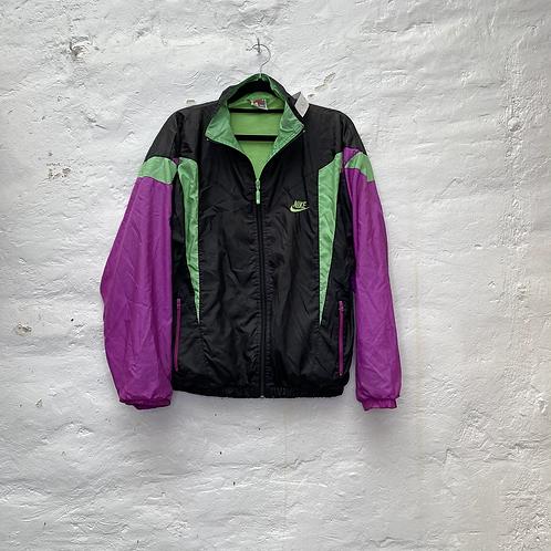 Veste de sport vintage tricolore, années 90, TM, Nike