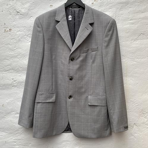 Blazer gris à carreaux, TL, Givenchy