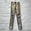 Thumbnail: Pantalon skinny ciré mordoré, années 2000, TS, Cimarron