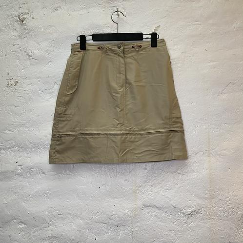 Jupe courte beige amovible, TM, Longboard