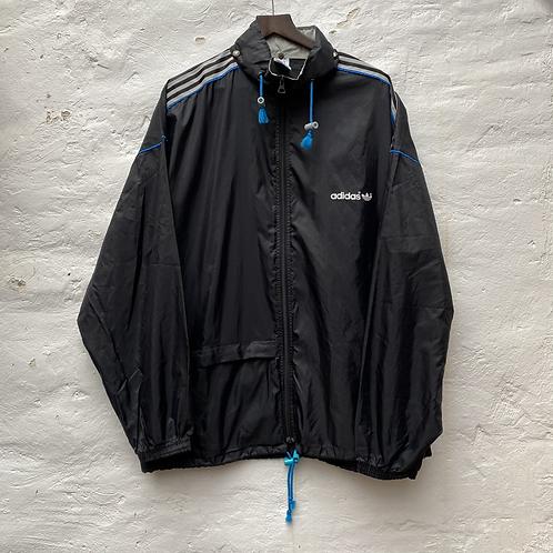 Veste sport imperméable noire Adidas, TL-XL, Adidas