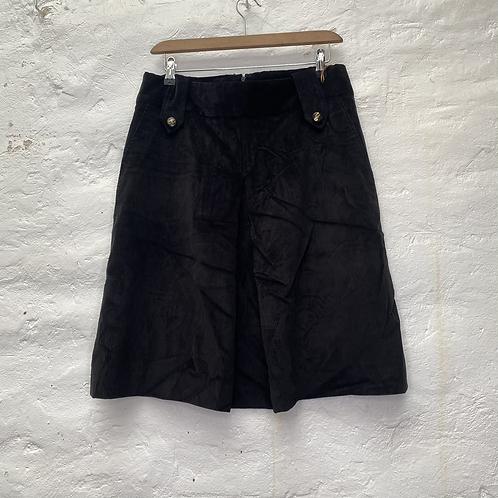 Jupe velours noire D&G, années 80, TM, Dolce & Gabbana