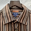 Thumbnail: Chemise rayée marron, TL, Kenzo