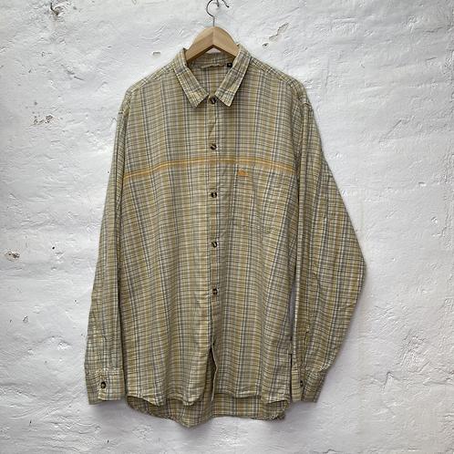 Chemise à carreaux vert et orange, TL-XL, Quiksilver