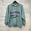 Thumbnail: Sweatshirt vintage vert pastel, années 90, TM