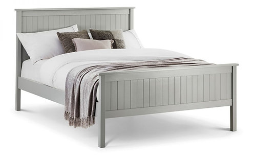 Maine Double Bed Frame - Dove Grey