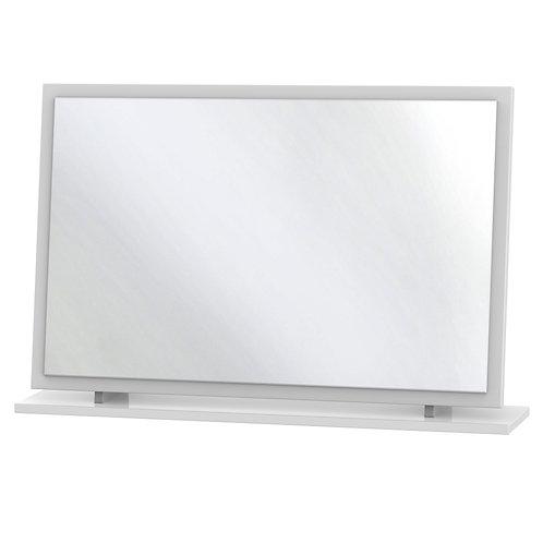 Monaco White Large Mirror