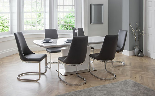Como Dining Set & 6 Chairs