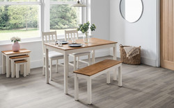 coxmoor-white-oak-dining-table-bench-chairs-roomset