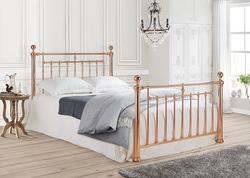 Alexander Rose Gold bed frame