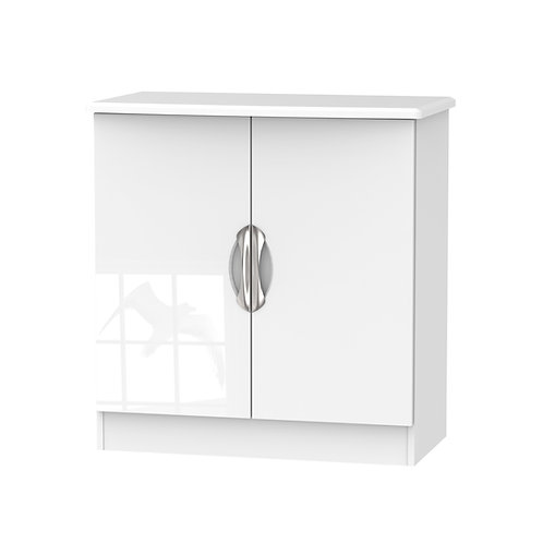 Camden 2 Door Unit-White Gloss