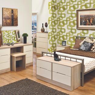 Monaco Cream & Bardolino Bedroom Range