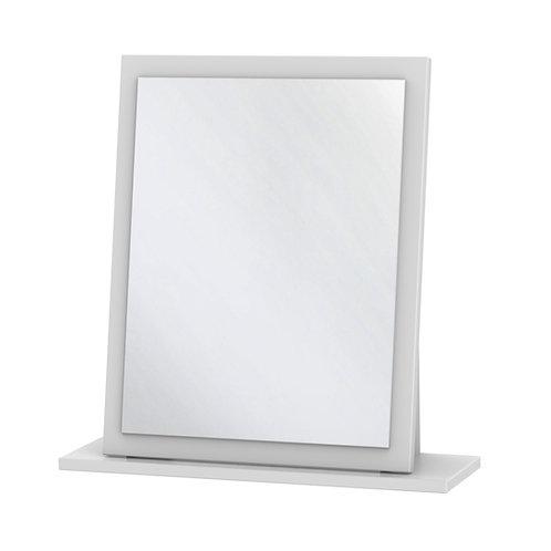 Monaco Small White Mirror