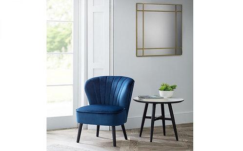 Coco Chair - Blue Velvet