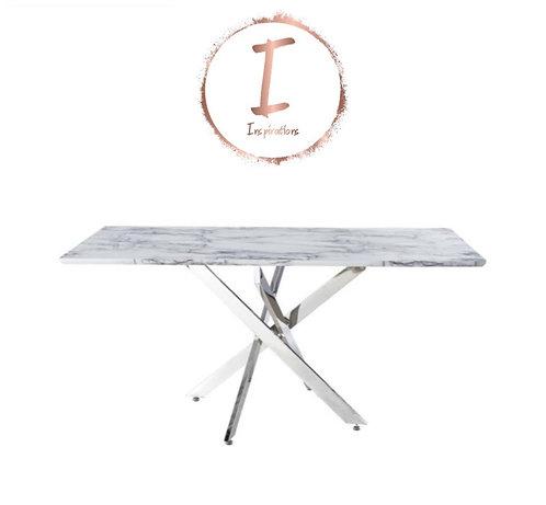 Nova 160cm Marble Dining Table