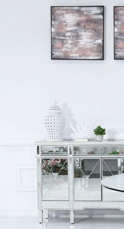 46cm White Ceramic Ginger Jar