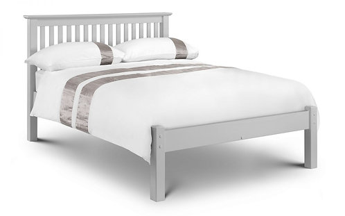 Barcelona Bed - Low Foot End Dove Grey