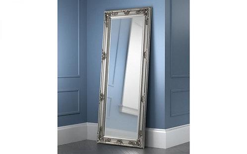 Palais lean to dress mirror- Pewter