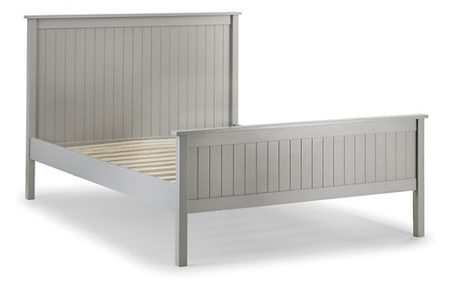 Maine King Size Bed Frame- Dove Grey