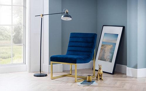 Bellagio Chair - Blue Velvet