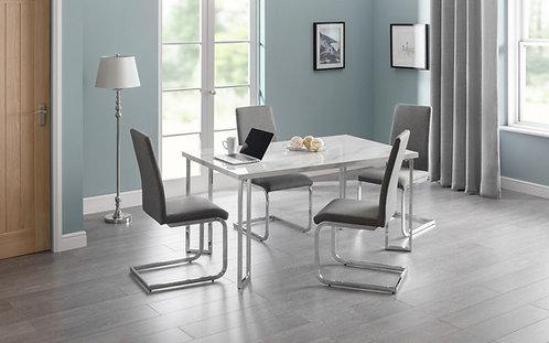 Positano Dining Set & 4 Roma Chairs