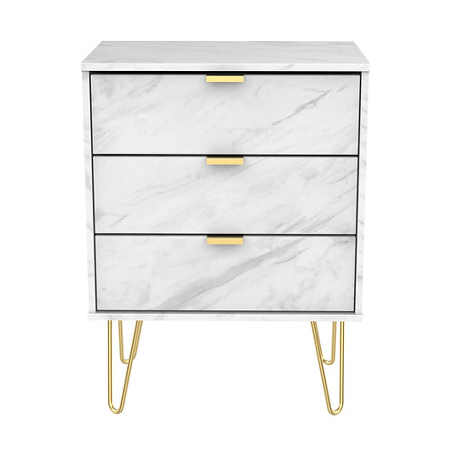 Hong Kong Marble-3 drawer chest