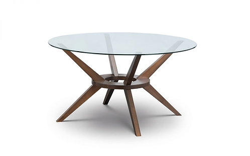 Chelsea Large 140cm Glass Top Dining Table