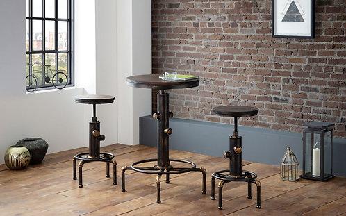 Rockport Pipework Bar Table & 2 Rockport Bar Stools