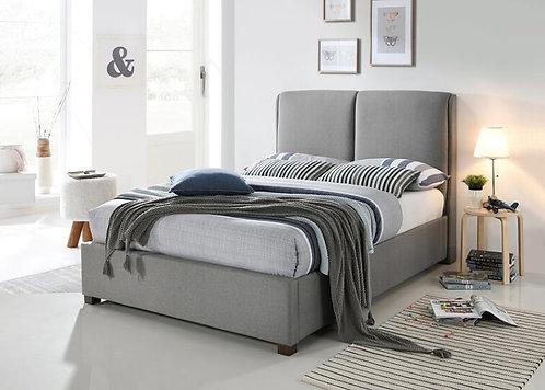 Oakland Fabric Bed Frame-Light Grey
