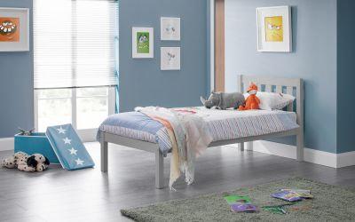Luna Bed - Dove Grey