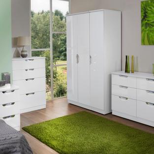 Camden White Gloss Bedroom Range