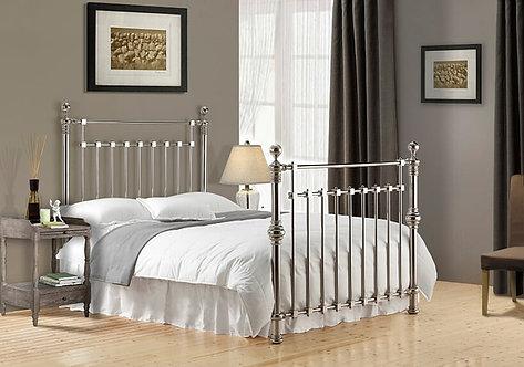 Edward Metal Bed Frame-Chrome