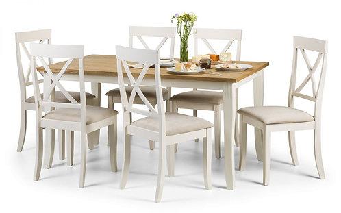 Davenport Rectangular Dining & 6 Chair Set