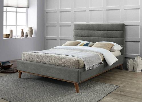 Mayfair Fabric Bed Frame-Light Grey