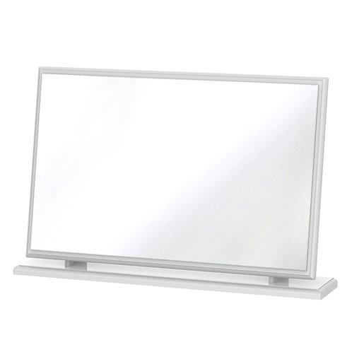 Balmoral Large Mirror-White Gloss