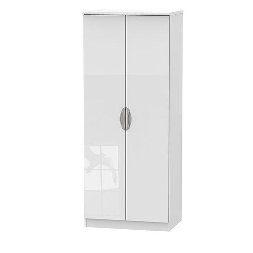 Camden Tall 2 Door Plain Wardrobe