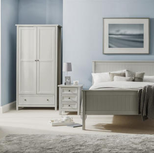 Maine Bedroom Collection-Dove Grey