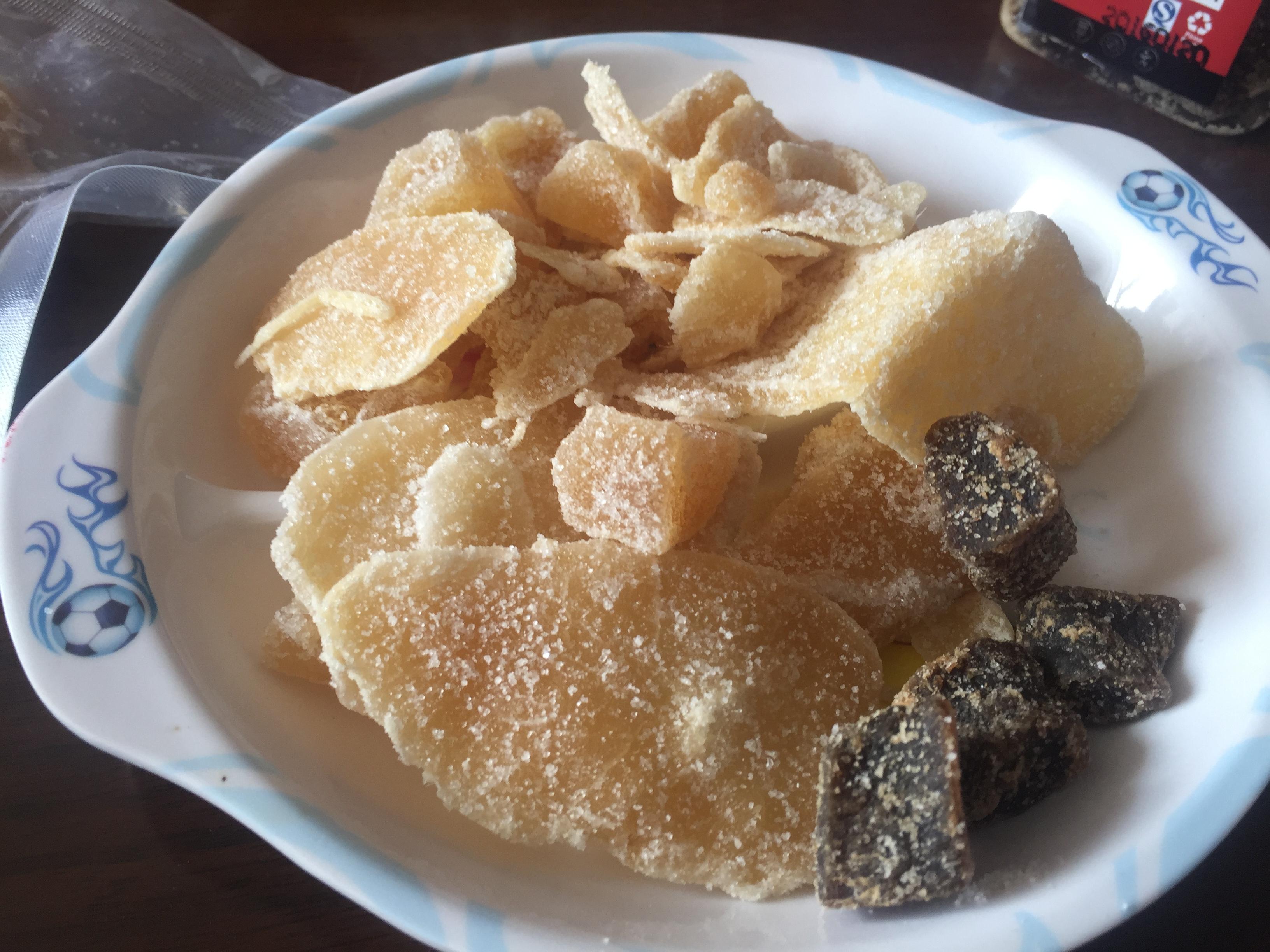 Crystallized ginger mix