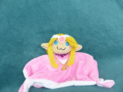 Doudou plat Princesse